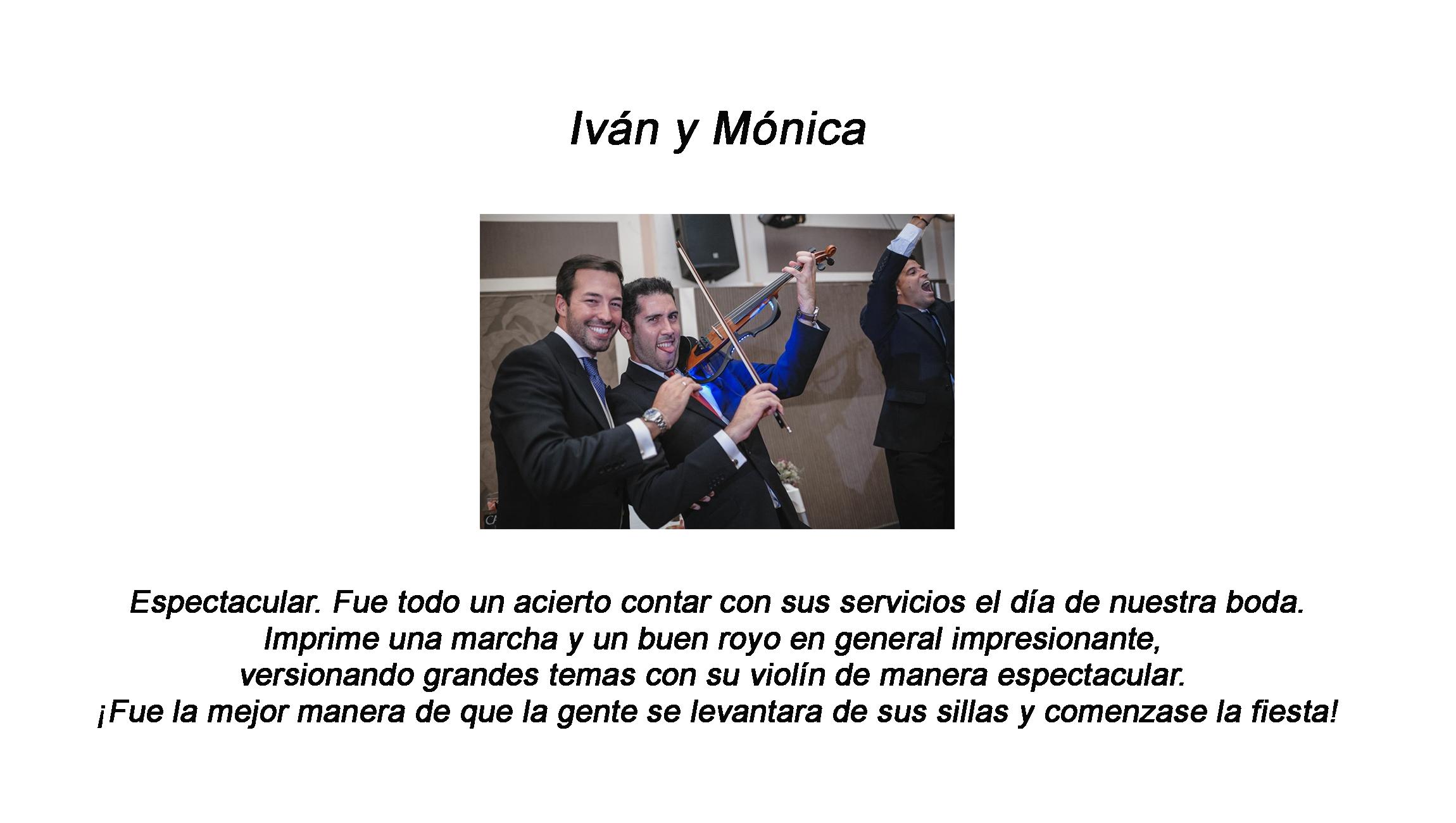 Violinista electrónico Yorch
